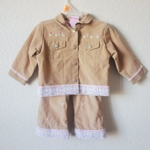 18M Girls Matching Outfit